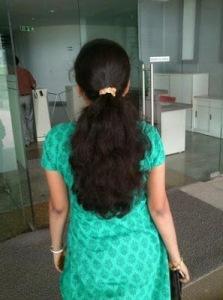 Trissur long hair girls photo set